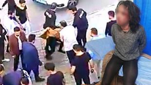 Yine çocuğa taciz ! Tacizciyi dövüp polise teslim ettiler