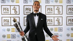 Virgil van Dijk Premier Lig'de yılın oyuncusu seçildi
