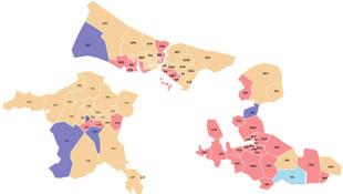 3 büyükşehirin belediye meclisleri netleşiyor