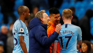 Manchester City'den peş peşe 8. galibiyet