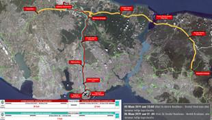 İstanbullular dikkat ! 26 saat boyunca bu yollar trafiğe kapanacak