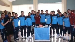 Uğurcan Çakır'a, Antalyaspor maçı öncesi doğum günü sürprizi