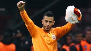 Galatasaraylı futbolcu Belhanda'ya maçtan sonra destek