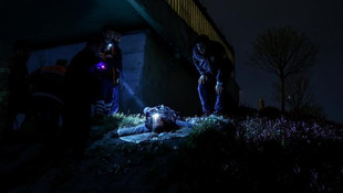 Zincirleme kaza sonrası cesedi bakın nerede bulundu