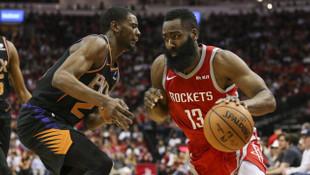 Houston Rockets 27 üç sayı isabetiyle NBA rekoru kırdı