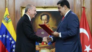 Venezuela'dan Erdoğan'a teşekkür mesajı