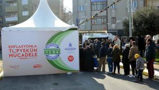Tanzim satışta sadece domateste zarar 4,5 milyon TL