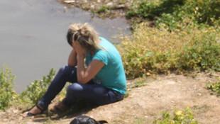 Nişanlısıyla kavga etti, göle atladı