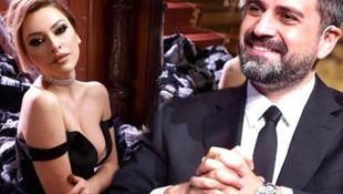 Hadise'den Erhan Çelik ile aşk iddialarına cevap