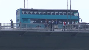 15 Temmuz Köprüsü'nde intihar girişimi