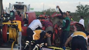 Bursa'da zincirleme kaza ! Çok sayıda yaralı var