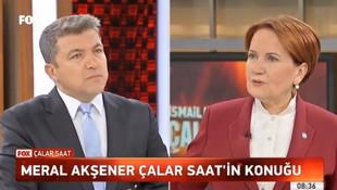 Akşener: ''Erdoğan'ın B planı yokmuş''
