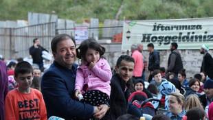 Binlerce Maltepeli ''Sevgi Sofraları''nda buluştu