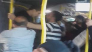 Metrobüste hareketli dakikalar