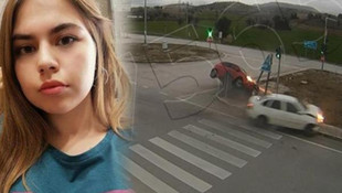 Üniversiteli İrem'in öldüğü kaza güvenlik kamerasında !