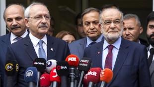 CHP, Saadet Partisi'ne aday çekme konusunda ısrarcı olmayacak