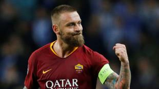 Roma, Daniele De Rossi'nin takımdan ayrılacağını açıkladı