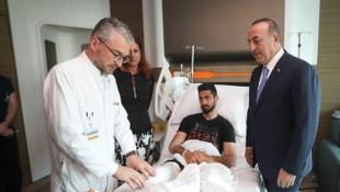 Mevlüt Çavuşoğlu'ndan Emre Akbaba'ya ziyaret