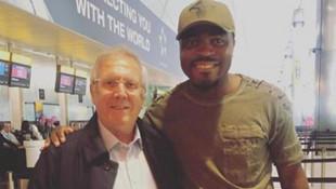 Emenike'den Aziz Yıldırım paylaşımı: Seni görmek güzeldi baba