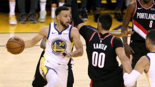 Golden State Warriors Batı Konferansı finaline hızlı başladı