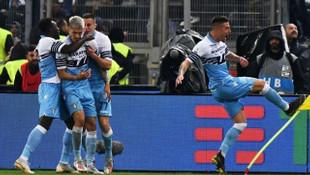Atalanta'yı geçen Lazio kupayı müzesine götürdü