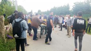 Kızlara hava atarken terör estirdi: 7 öğrenci yaralı