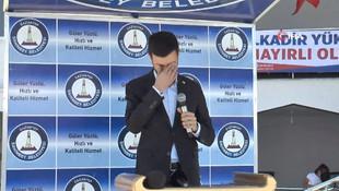 AK Partili milletvekili gözyaşlarını tutamadı