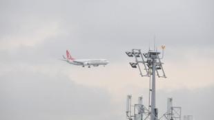 İstanbul'da uçuşlara olumsuz hava engeli