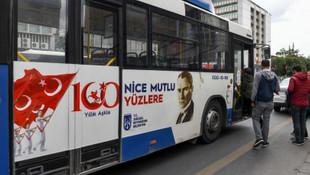 Ankara Büyükşehir Belediyesi'nden 19 Mayıs pankartları