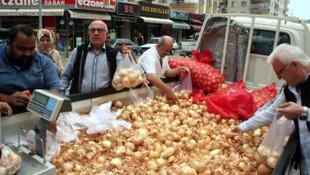 5 ton soğan 1 saatte bitti !