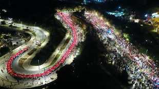 19 Mayıs'ın 100. yılı kutlamalarından kareler