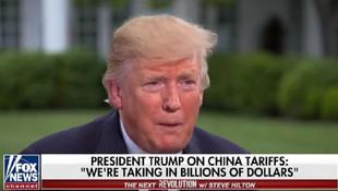 Trump'tan Çin'e büyük rest: Ben görevde olduğun sürece...