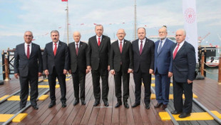 CHP'den liderlerin birlik pozuna eleştiri