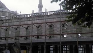 Sultanahmet Camisi restorasyonunda skandal
