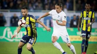 Büyükşehir Belediye Erzurumspor - Fenerbahçe maçında Valbuena sakatlandı