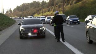 Milli Eğitim Müdürü'nün çakarlı aracını durduran polise iyi haber