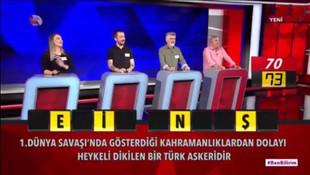 Yarışmacılar Seyit Onbaşı'yı bilemedi, sosyal medya yıkıldı