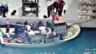 Türk balıkçı teknesine ateş açıp, batırdılar: 3 yaralı, 5 gözaltı