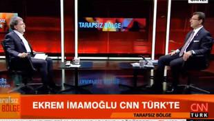 CNN Türk'ten Ekrem İmamoğlu açıklaması