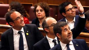 Tutuklu vekiller ilk kez parlamentoda !