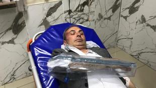CHP'li Belediye Başkan Yardımcısına saldırı anı güvenlik kamerasında
