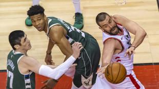 Toronto Raptors Milwaukee Bucks'ı 120-102 yenerek seriyi 2-2'ye getirdi