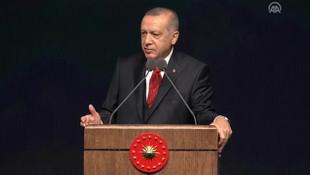 Erdoğan'dan sert sözler: Beş ülke güya adelet dağıtıyor