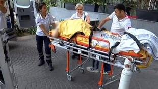 İstanbul'da özel hastanede can pazarı kamerada