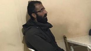 Teröristin yakalandıktan sonra çekilen ilk fotoğrafı...