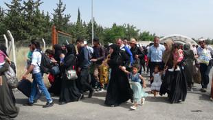 Bayram için ülkesine giden Suriyelilerin sayısı 7 bine ulaştı