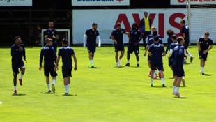 Fenerbahçe eksik çalıştı