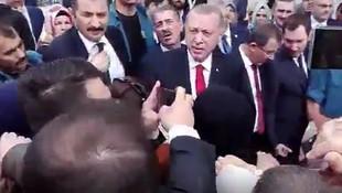 Erdoğan'dan iki üniversite bitirmiş kadına şok sözler