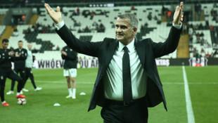 Şenol Güneş Beşiktaş'ın başındaki son maçına çıktı