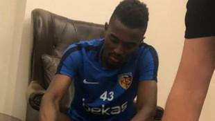 Kayserispor, Bernard Mensah'ı transfer etti